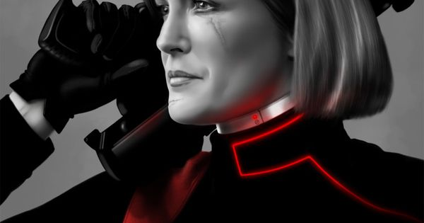 Tron janeway from the mirror universe love the scar for Mirror janeway