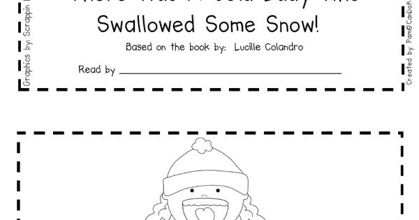 FREE emergent reader to use with There Was a Cold Lady Who