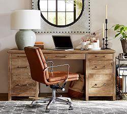 Bedford Corner Desk Reclaimed Wood Desk Cheap Office Furniture