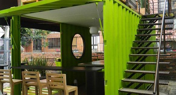 Quiosq projects to try pinterest casas - Arquitectura contenedores maritimos ...