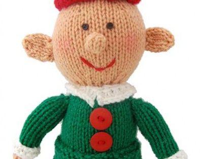 Little Elf Knitting Pattern : Free Universal Yarn Pattern : Happy Little Elf knitting ...