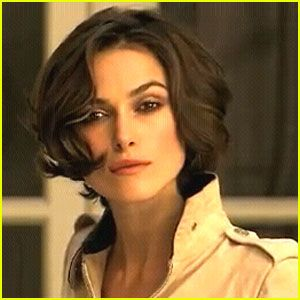 Love This Style From Her Chanel Commercial Kiera Knightly