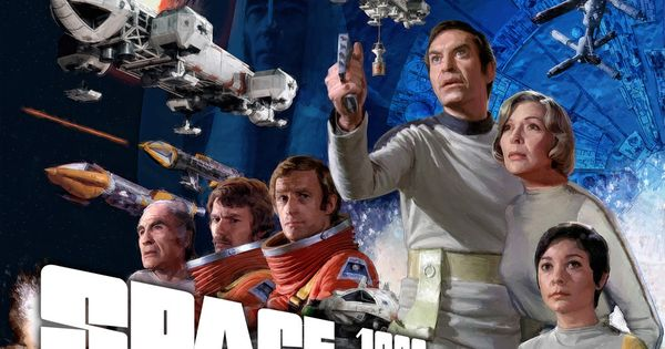 Movie Posters 1999: Official Space 1999 Poster: Season 1
