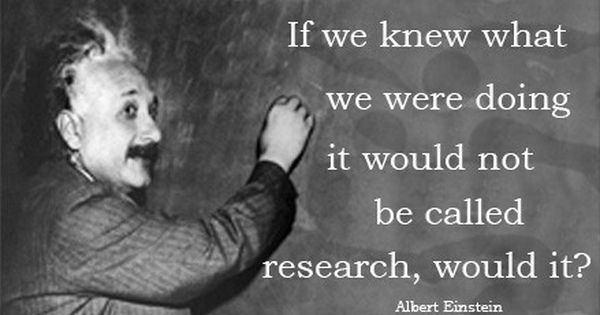 Einstein Quote Magnet Research by goodbyefeet on Etsy