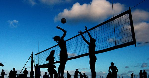 Beach Volleyball The Best Of Both Worlds Beach Volleyball Pictures Volleyball Pictures Beach Volleyball