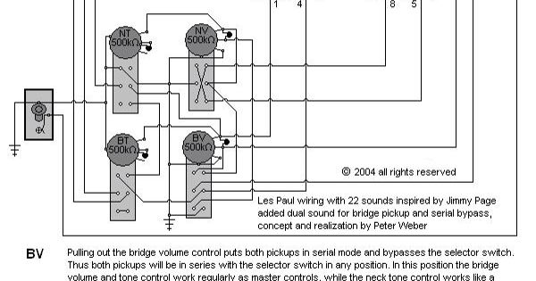 ibanez guitar pickup wiring diagram images jimmy page wiring diagram guitar build jimmy