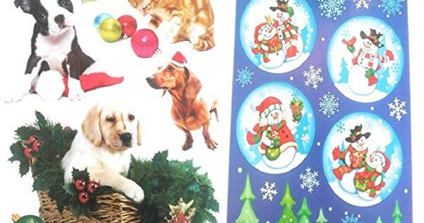 Holiday Window Clings