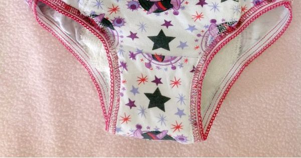 DIY tutorial Toddler training pants by Dizzy Design Studio- cute idea!