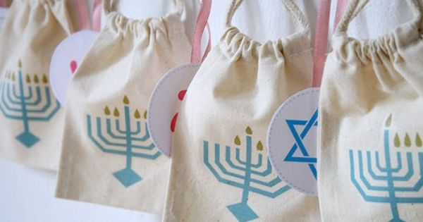 Muslin bags, Menorah and Kid on Pinterest