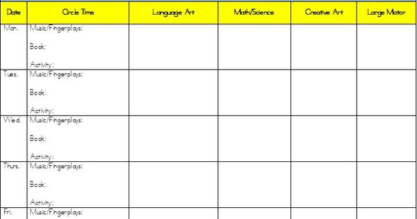Planning marvelous mitten activities for preschool for Kindergarten curriculum map template