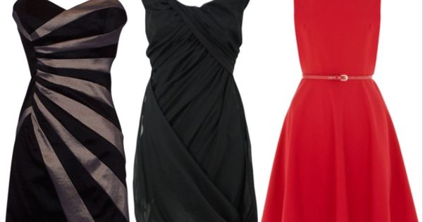 The one the black and black and silver dress on pinterest