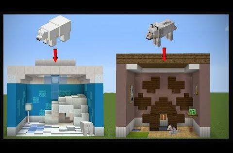 10 Minecraft Pet Room Designs Youtube Animal Room Minecraft Room Minecraft Bedroom