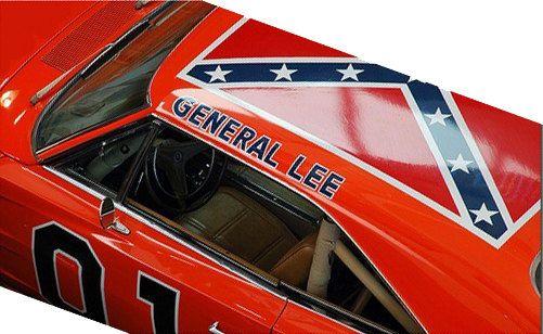 General Lee Roof Vinyl Sticker General Lee Vinyl Sticker Cars Movie