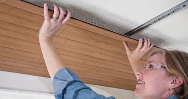 Easily Cover Your Old Popcorn Ceilings Popcorn Ceiling Covering Popcorn Ceiling Ceiling Alternatives