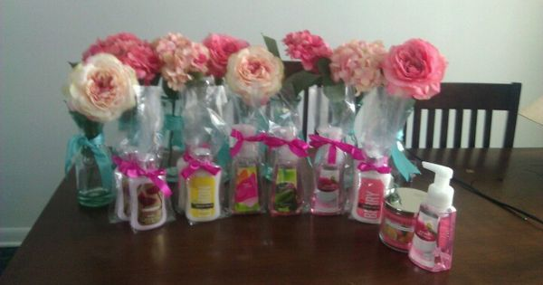 Bridal Shower Centerpieces And Prizes Brittany Bridal