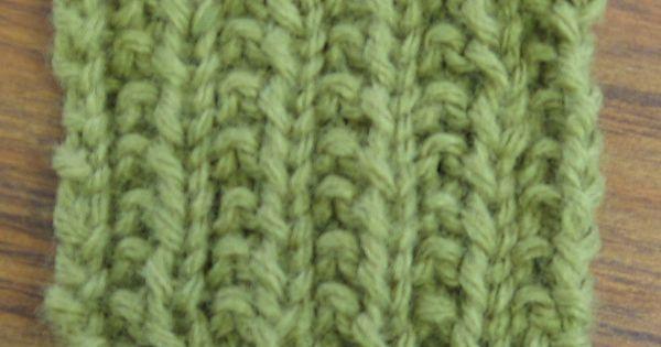 Knitting Rib Stitch For Beginners : Farrow rib stitch is perfect for beginners knitting