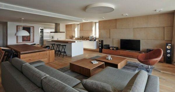 Küchengestaltung Ideen Küchenbilder offene Küchen wohnz - offene küchen ideen