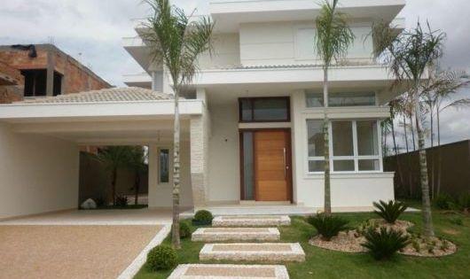 Cor telhado para casa fachadas facade pinterest for Casas duplex modernas