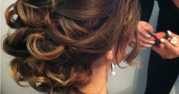 beautiful, messy updo -- hair idea