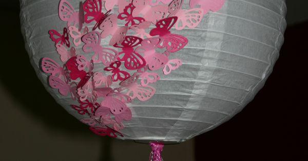 Vlinderlamp Kinderkamer : vlinderlamp Kinderkamer thema vlinders ...