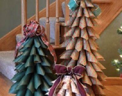 Christmas bazaar craft ideas rbol de navidad eco - Arboles decoracion interior ...