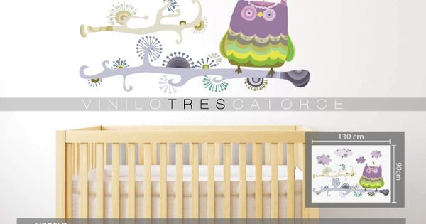 Vinilos decorativos infantiles sticker decorativo rama for Stickers decorativos infantiles