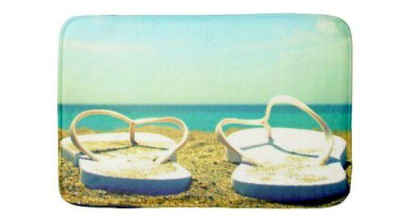 Flip Flops Beach Bath Mat Http Www Beachblissdesigns Com 2015