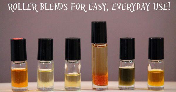doTERRA essential Oil roller blends for everyday use