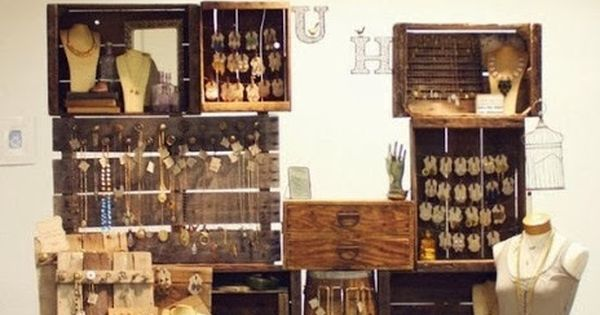 The Boutique Market Display ideas Craft jewellery