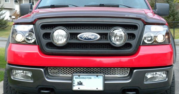 Www F150 Forums Com Members Purplehazeir 11 Albums My 2004 F 150 7 Picture Kevins F 150 Hella Grill Hids Halos 33 Jpg Ford Pickup Trucks Ford F150 F150