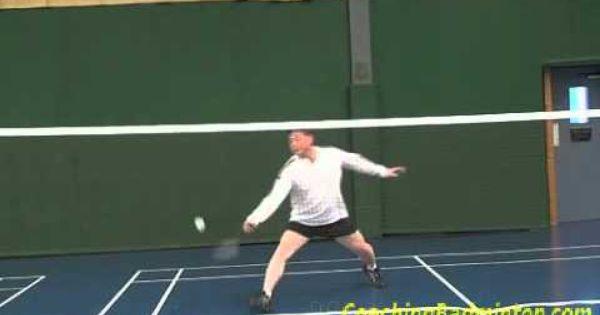 Badminton Forehand Smash Defense Badminton Badminton Videos Defense