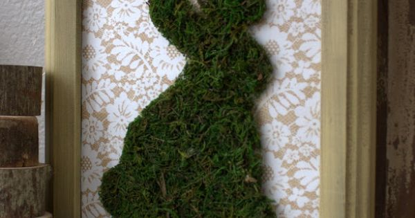cute moss bunny | - spring | Pinterest | Bunnies, Easter Bunny and ...