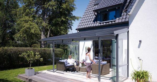 wintergarten oder berdachte terrasse beides. Black Bedroom Furniture Sets. Home Design Ideas