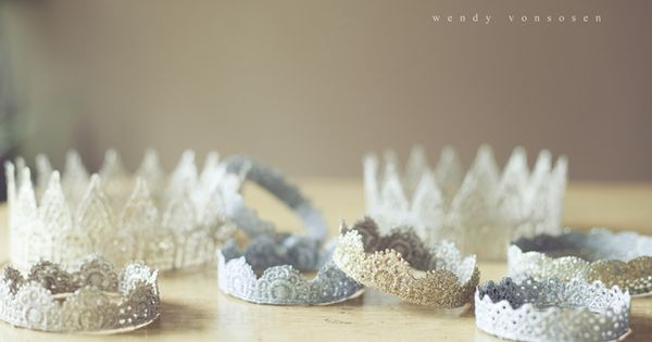 DIY Princess crowns