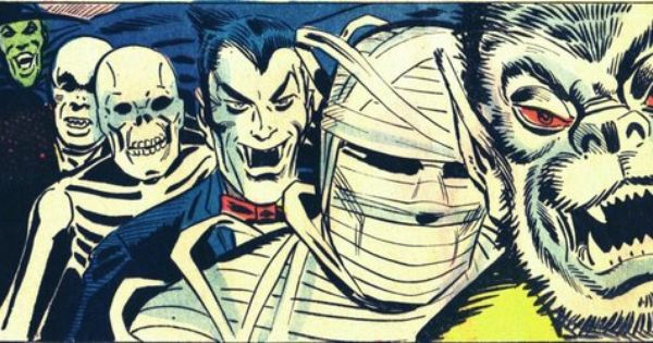 Classic Ditko Panel From The Monsters Ride At Night Ghost Manor 7 1972 Via Devlin Thompson Facebook Horror Art Halloween Art Horror Pictures