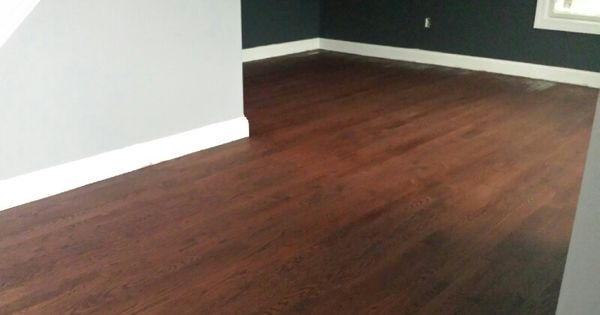 Red mahogany stain on oak floors new house pinterest stains