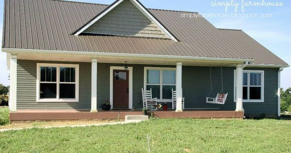 Small simple house plan 1500 square foot house plan for Tin house plans
