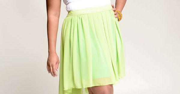 chiffon skirt chiffon and plus size on pinterest