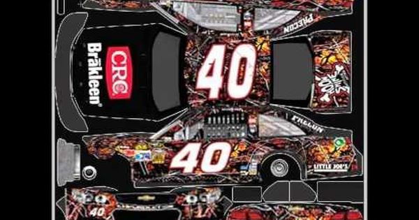 Nascar Templates 2013 Time For Two More Nascar 09 Templates Youtube Paper Models Paper Car Paper Toys