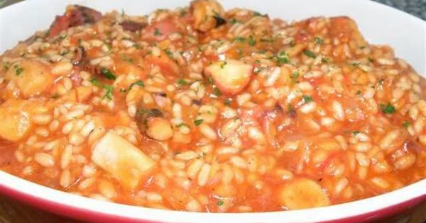Varomeando risotto de pulpo thermomix arroces - Risotto tomate thermomix ...