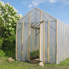 Comment Fabriquer Une Serre De Jardin Serre Jardin Construire