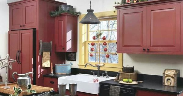 Buttermilk Colored Kitchen Cabinets