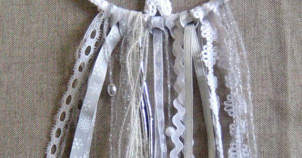 Dreamcatcher l 39 attrape r ves flocon de neige au crochet catcher d coration et flocons - Dreamcatcher l attrape reves ...
