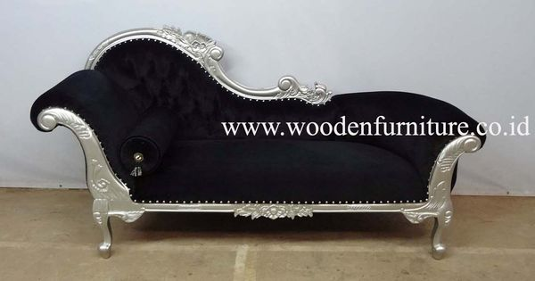 Antique reproduction sofa mahogany painted bed french for Antique reproduction chaise lounge