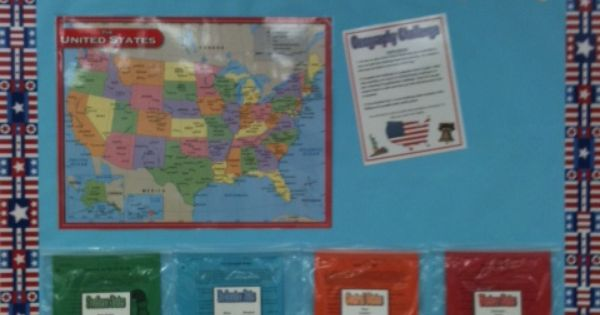 Classroom Decoration Bulletin Board ~ Geography bulletin board ideas challenge i m