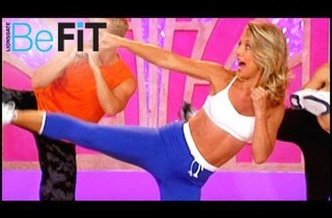 Denise Austin: Kickboxing Cardio Fat Blast Workout ...