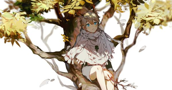 A Boy Sitting On The Tree By Tabanei Tree Sketches Boy Sketch