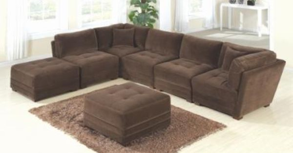 Nader S Viviana Sectional Comes In 7 Separate Pieces So You Can