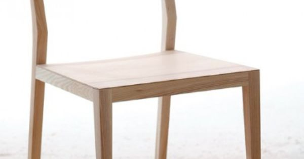 Ghost chaise en bois massif par mintbois simple pur for Chaise bercante en bois massif