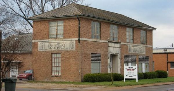 coke building that helped bottle some of the first cokes